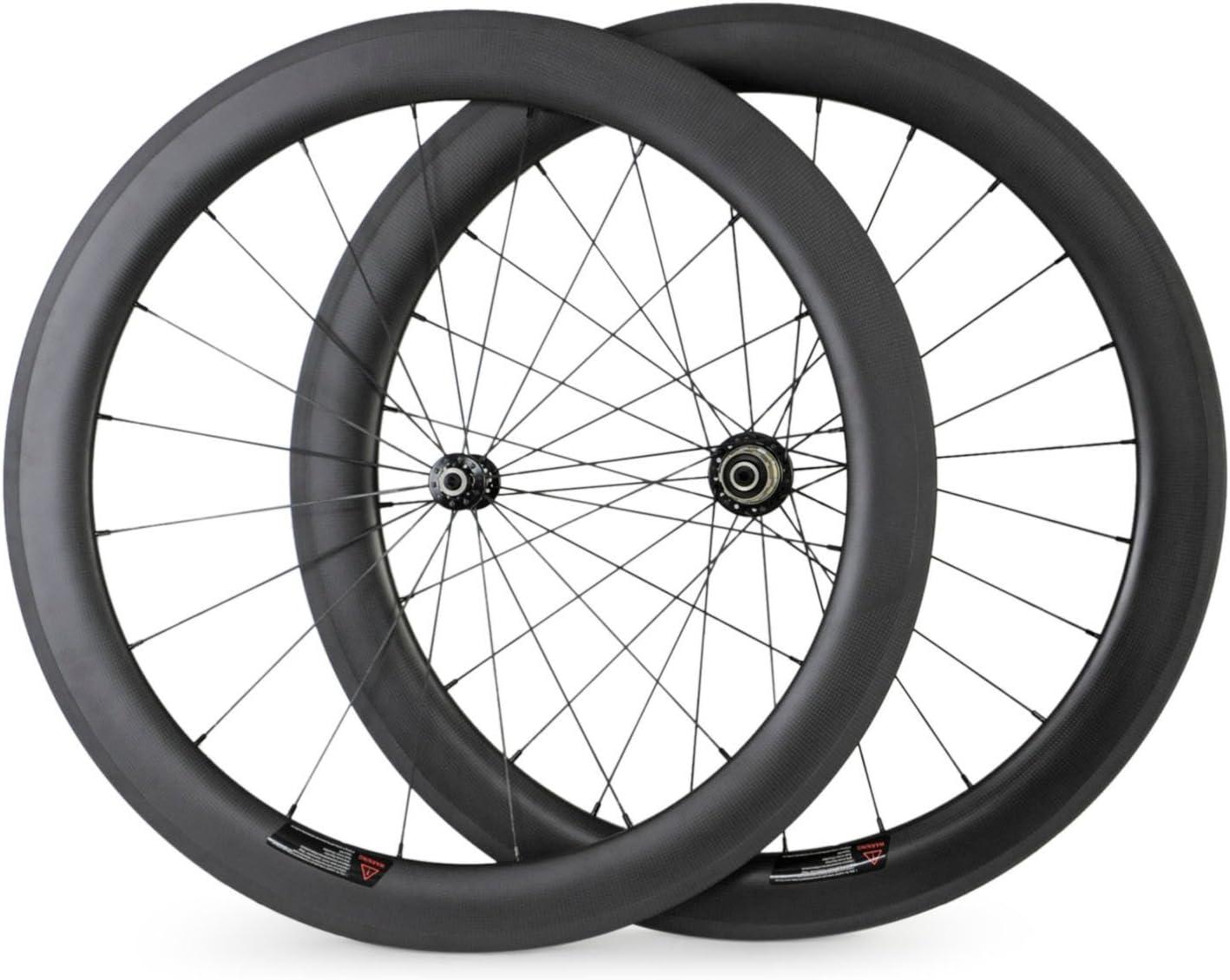 Baixiang - Ruedas Para Bicicleta de Carretera, de Fibra de Carbono ...