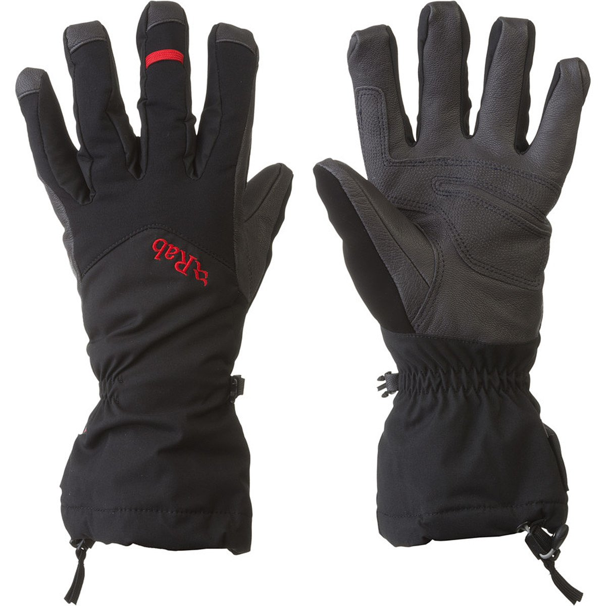 Rab Icefall Gauntlet Glove - Men's Black Medium