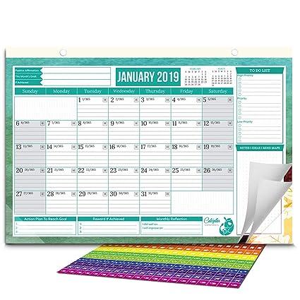 Wall Calendar January 2020 Amazon.com: Caterpillar Calendar 2019 to 2020 Monthly & Yearly