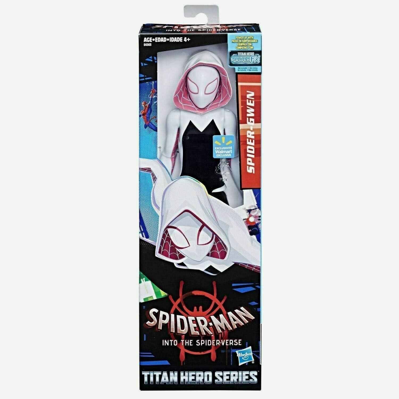 Marvel Spider-Man: Into the Spider-Verse Titan Series Gwen Action Figure 12 Inches