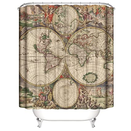 Image Unavailable Not Available For Color Shower Curtain Antiques Old World
