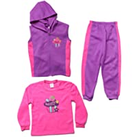 Just Love Girls Three Piece Fleece Set