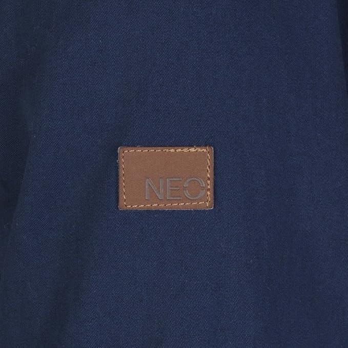 adidas NEO Fur Parka Winterjacke F83230, blau , Größe M 50