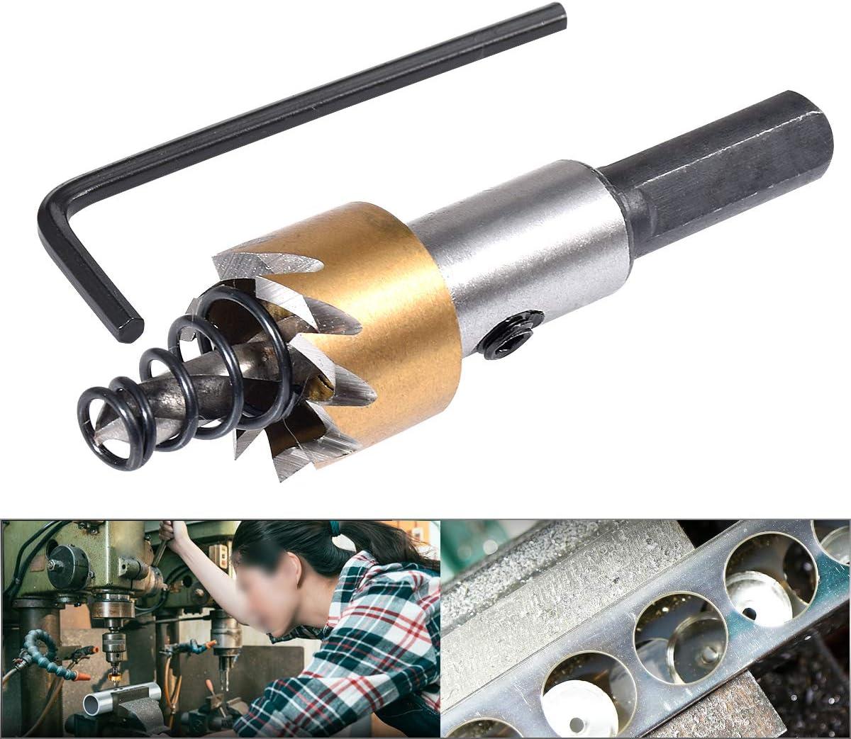aleaci/ón herramienta de corte de abridor de cobalto para madera 30 mm Kit de dientes de sierra de agujero de broca HSS KATUR de 30 mm cortador de metal de acero inoxidable