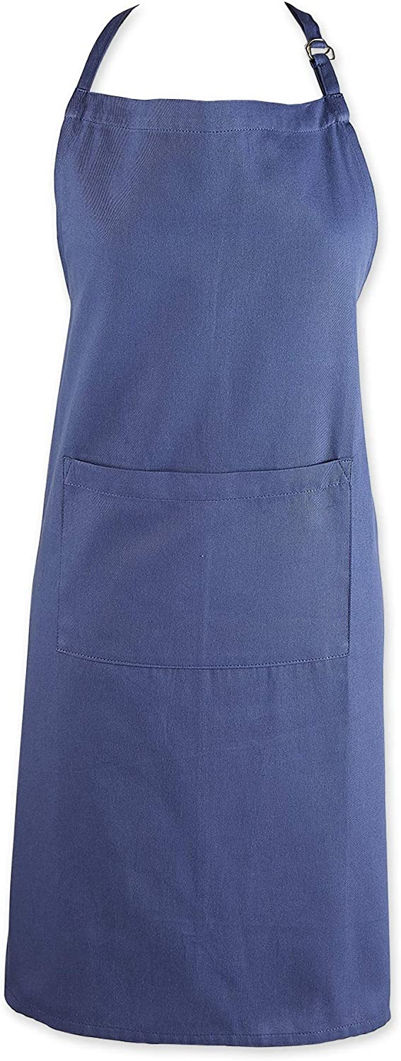 DII Everyday Basic Kitchen Collection, Chef Apron, French Blue