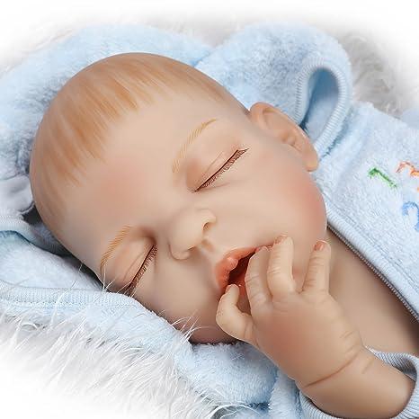 Amazon.es: Fachel Muñeca bebé recién nacido 55cm 22inch muñeca ...