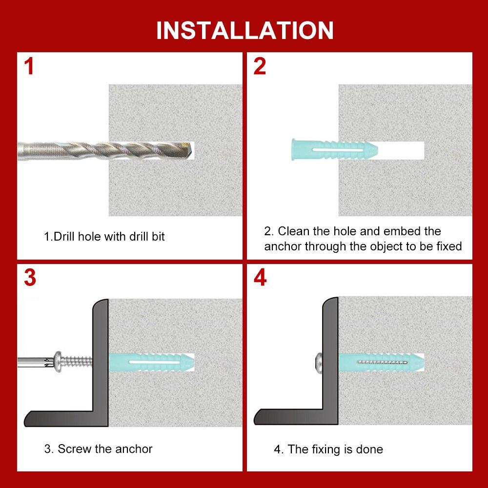 Phillips Bugle Head w//Coarse Thread BCP441 120 Qty #8 x 2-1//2 Sheetrock Drywall Screws