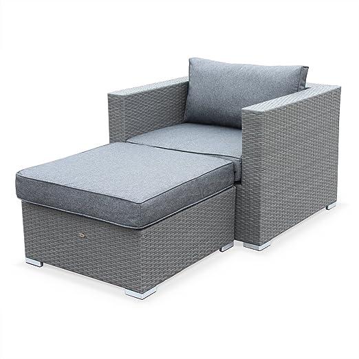 Alices Garden - Muebles de jardín, sillón Individual de Exterior ...