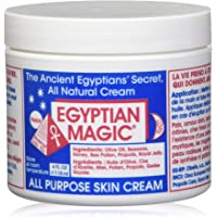 Egyptian Magic All Purpose Skin Cream   Skin, Hair, Anti Aging, Stretch Marks   All Natural Ingredients   4 Ounce Jar
