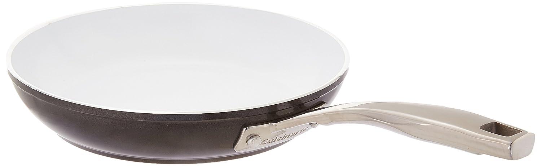 """Cuisinart 59I22-24BK Open Skillet, 10"""", Black"""