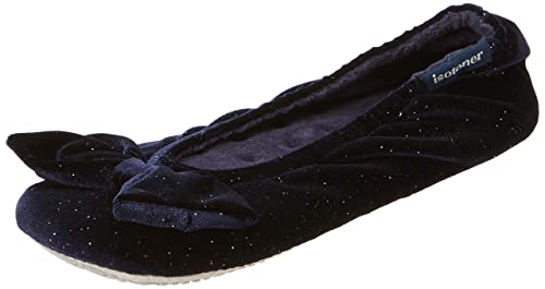 Isotoner Sparkle Big Bow Ballet Slippers, Zapatillas de Estar por casa para Mujer: Amazon.es: Zapatos y complementos