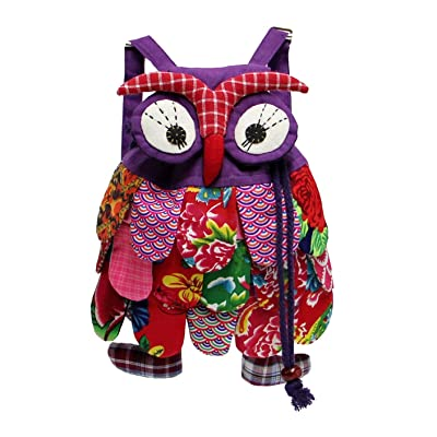 70%OFF LeaLac Kids School Backpack Cute Owl Backpack Cartoon Toddler Bag