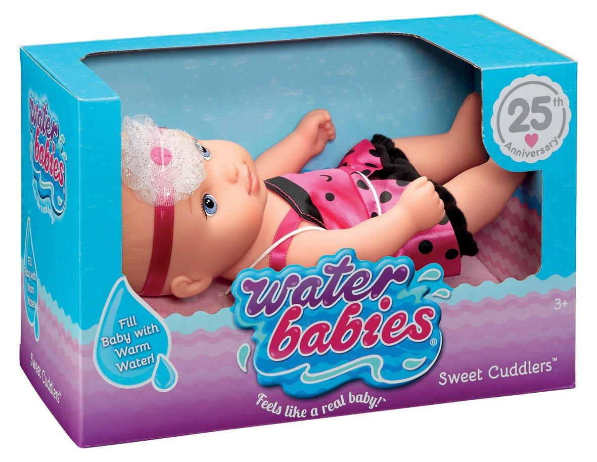 Waterbabies Just Play Sweet Cuddlers Ladybug Baby Doll JPL69055