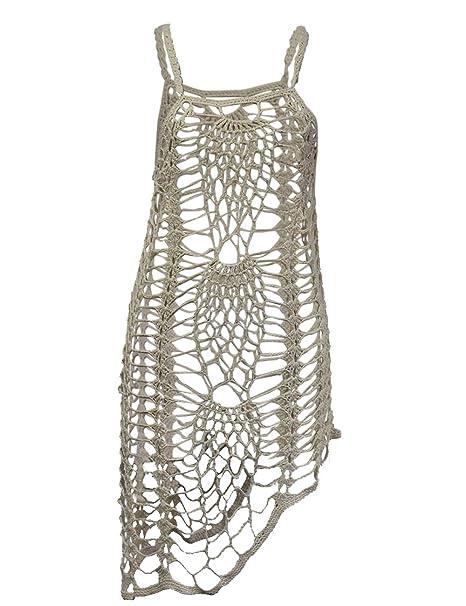 033e3efb19f shermie Women s Vintage Crochet Lace Bikini Swimsuit Cover Ups Short ...
