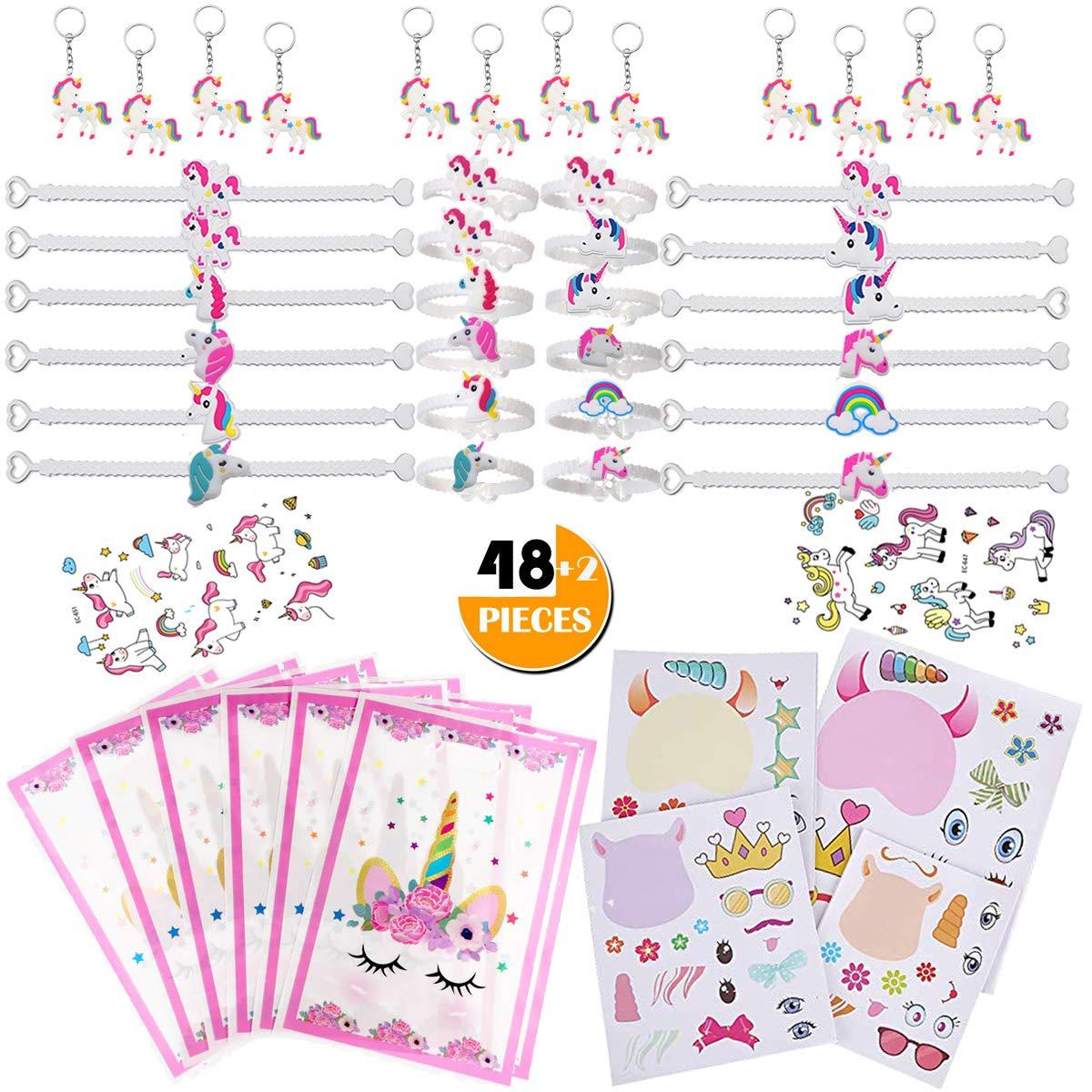 Amazon.com: Paquete de 50 regalos de unicornio para niños ...