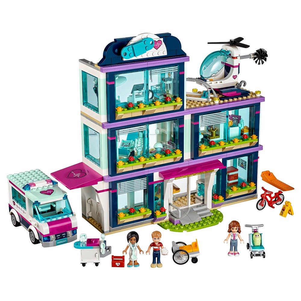 LEGO Friends Heartlake Hospital 41318 Building Kit (871 Piece) by LEGO