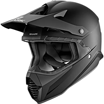 Shark Casco Cross Varial Negro Mate Talla XXL