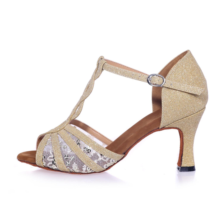 Frauen Latin Dance Schuhe Ferse 7.5Cm Satin Tanz Sandalen Sandalen Sandalen können angepasst Werden B076YX3RH2 Tanzschuhe Kostengünstig d0d828