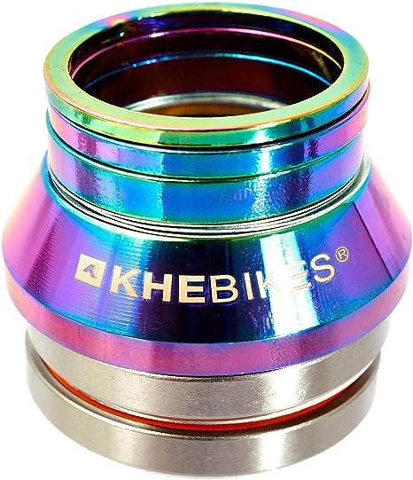 KHEbikes KHE BMX X10 - Juego de dirección para Bicicletas (rodamientos industriales, 3 espaciadores): Amazon.es: Deportes y aire libre
