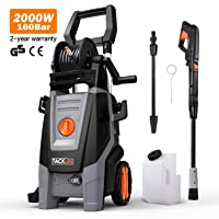 Pressure Washer, 160Bars 2000W 450L/H Full Copper Motor Pump Jet Washers