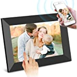 SCISHION Smart 10 Inch 16GB WiFi Digital Photo Frame with HD IPS Display Touch Screen - Share Moments Instantly via Frameo Ap