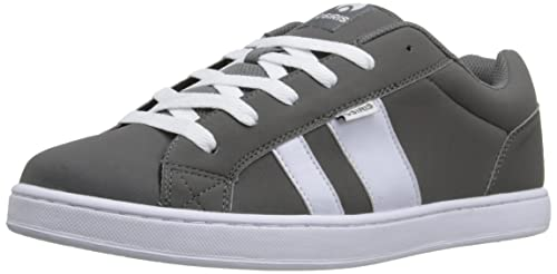 Zapatillas Osiris: Mens Loot Charcoal/White GR 10 USA / 43 EUR: Amazon.es: Zapatos y complementos