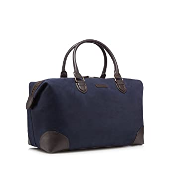 J By Jasper Conran Mens Navy Textured Holdall Bag One Size  J by Jasper  Conran  Amazon.co.uk  Clothing 86a3c5f00b16d