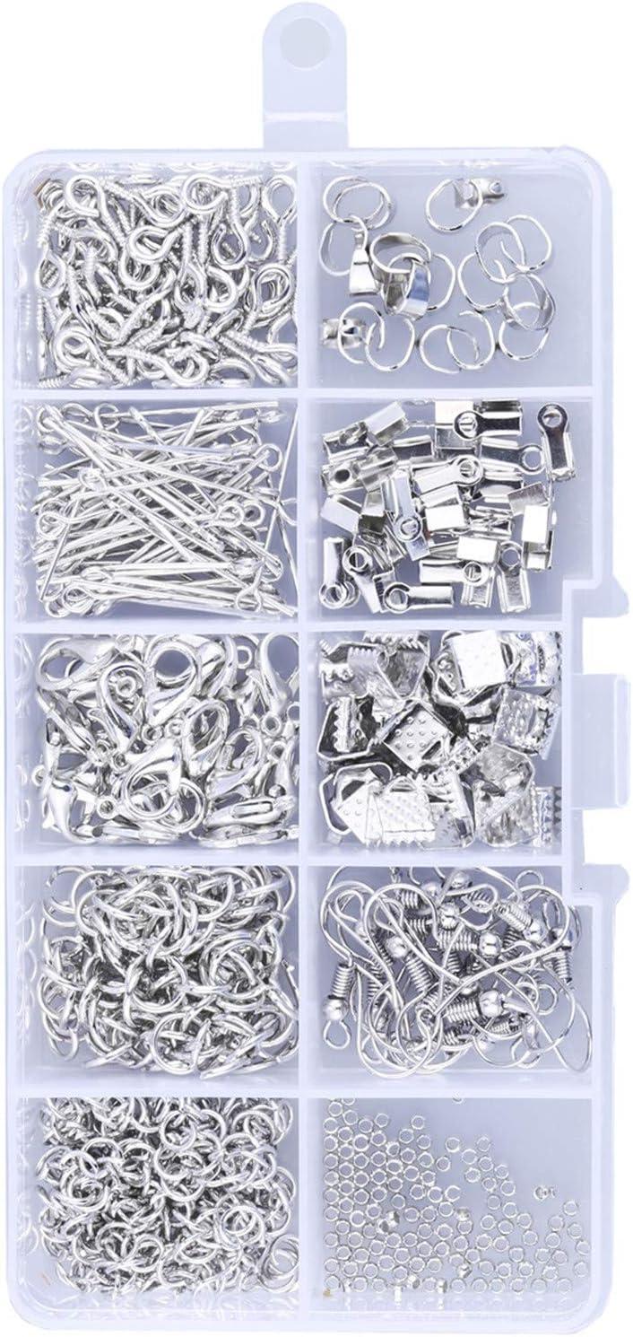 Joyeee Jewelry Making Kit Herramientas de joyer/ía Resultados de la joyer/ía Kit de Joyas Rebordear Kit de Herramientas de reparaci/ón Kit de Suministro de joyer/ía Artesan/ía Material