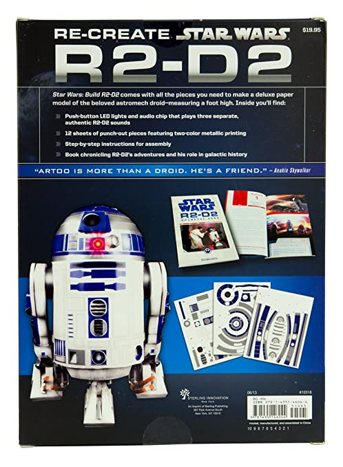 Amazon Build Your Own 3d Paper Figure From Star Wars Diy