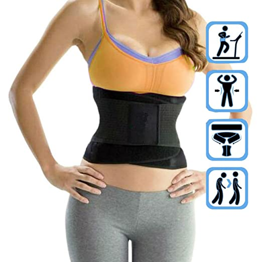 476ae3a521 Image Unavailable. Image not available for. Color  FUT Womens Waist Trainer  Belt ...