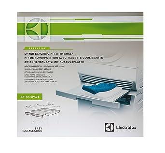 Electrolux Essential Kit 9029792885 apilamiento con la tableta kit desmontable apta para lavadoras y secadoras con
