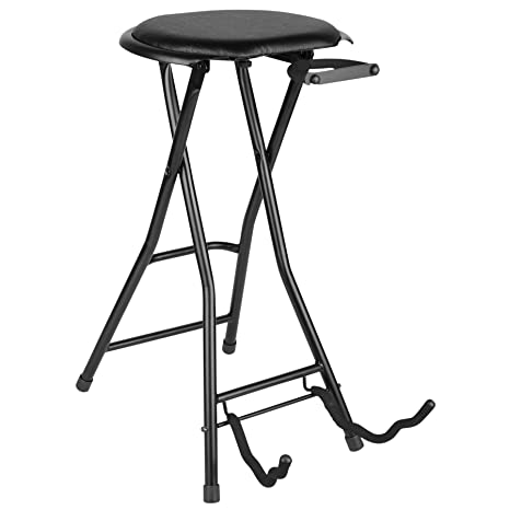 Admirable Talent Gss All In One Guitar Stand And Stool Combo Squirreltailoven Fun Painted Chair Ideas Images Squirreltailovenorg