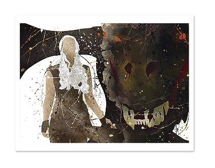 Daenerys And Dragon Wall ArtHouse Targaryen PosterGame