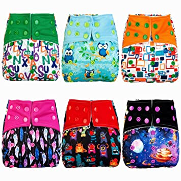 Imported From Abroad Alvababy Cloth Diapers One Size Reusable Washable Pocket Nappy Insert U Pick Diapering Baby