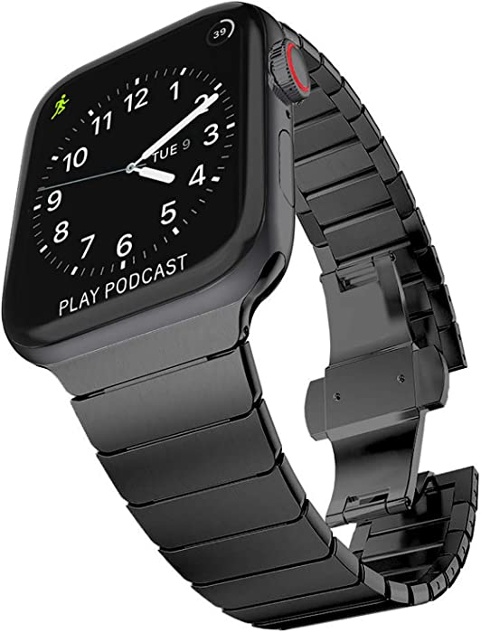 The Best Apple Watch Link Bracelet  Black