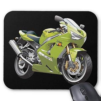 BGLKCS Kawasaki Ninja Alfombrilla de Ratón Mouse Pad: Amazon ...