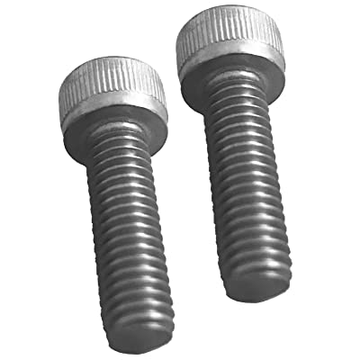 Pair of Replacement Screws for Fuel Wheels Black Center Cap Cap 1001-63-B: Automotive
