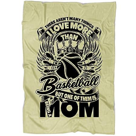 TUCSTORE Manta de Baloncesto con Texto I Love Basketball, Manta de ...