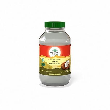 Organic India Extra Virgin Coconut Oil, 500ml