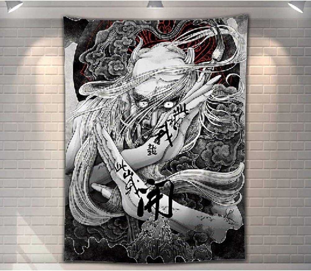 Hannya - Tatuaje decorativo para pared, diseño de máscara de ...