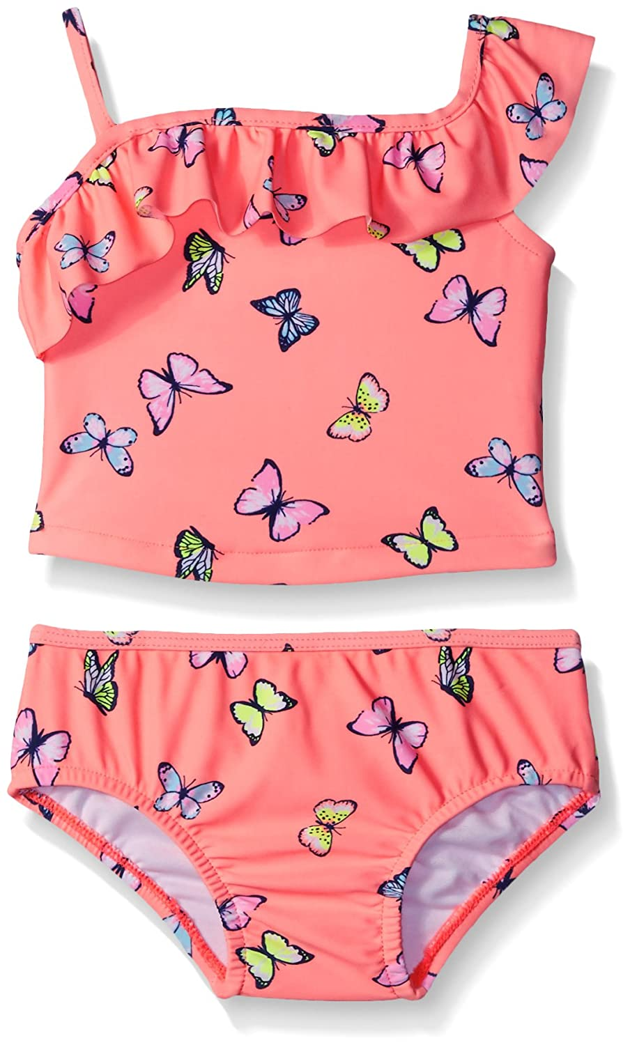 Carter's Baby Girls' Two Piece One Shoulder Butterfly Tankini SC16557