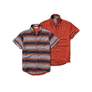 Hollister Hco Hombres de manga corta botón frontal Camisa ...