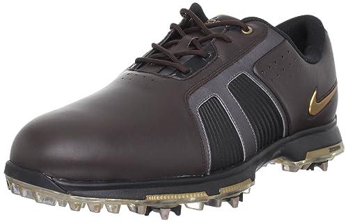 more photos f8326 a3a7c Nike Golf Men s Zoom Trophy Golf Shoe,Brown Metallic Stout Black,7 M US   Amazon.ca  Shoes   Handbags