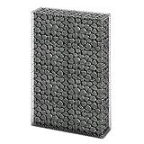 Gabion Base pour mur 150 x 100 x 30 cm