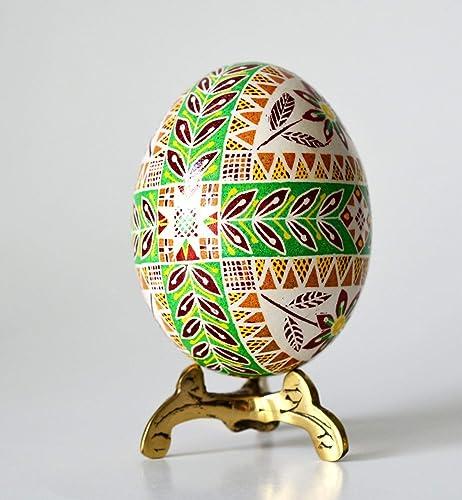 Real Hand-painted Pysanka Egg Pysanky Eggs Easter Basket Original Handmade Easter Svg Original Art Ukraine Souvenir Easter Gift Home Decor