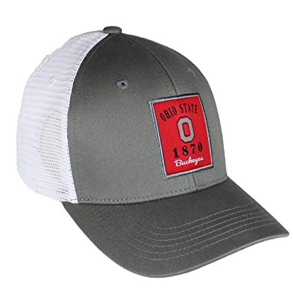 reputable site 01e39 9bb73 Image Unavailable. Image not available for. Color  Top of the World Ohio  State Buckeyes Official NCAA Adjustable Ranger 26 Hat Cap ...