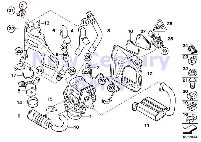 Amazon Com Bmw Genuine Holder For Additional Radiator 135i M Coup