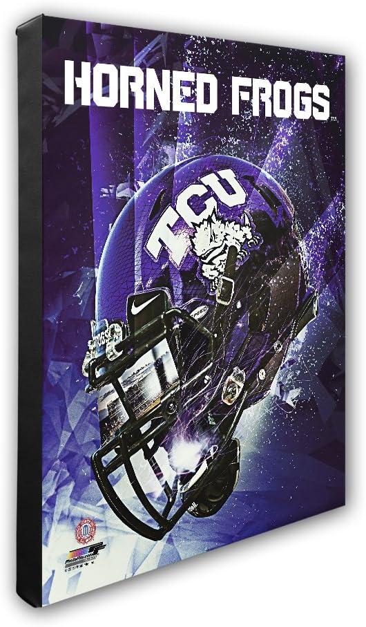 NCAA TCU Horned Frogs美しいギャラリー品質、高解像度キャンバス、16