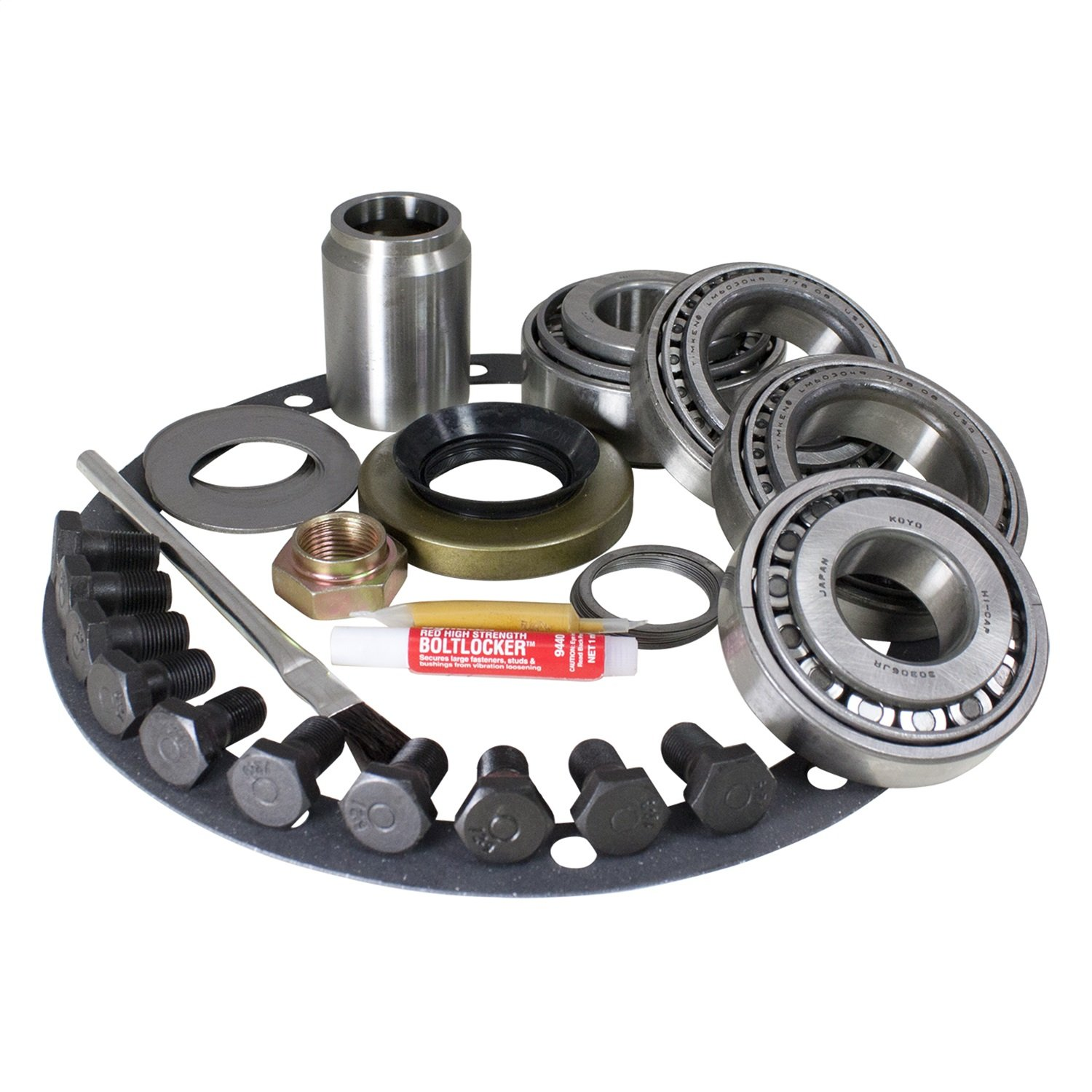 USA Standard Gear (ZK TV6-SPC) Master Overhaul Kit for Toyota V6/Turbo 4 differential by USA Standard Gear