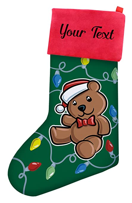 4432785a04b Image Unavailable. Image not available for. Color  Custom Christmas  Stockings ...